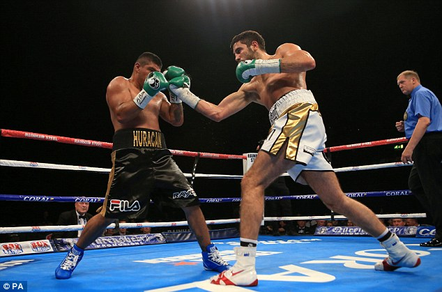 19th vs Castenada - Frank Buglioni