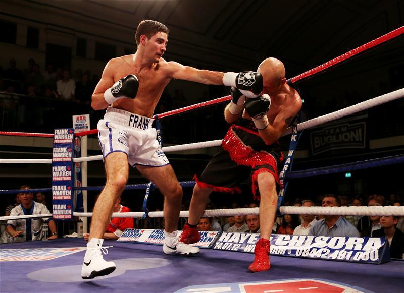 Frank Buglioni fighting