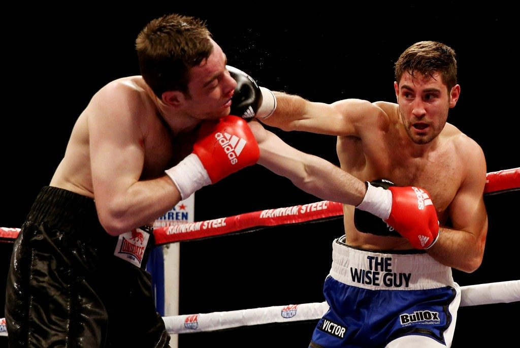 8th vs McKenna - Frank Buglioni